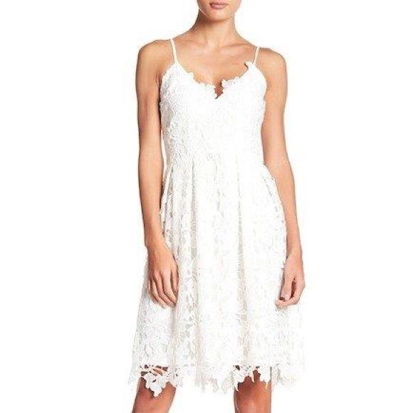 f6fc788342c0 Ady Lace Fit   Flare Dress